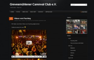 Screenshot GCC e.V. Webseite